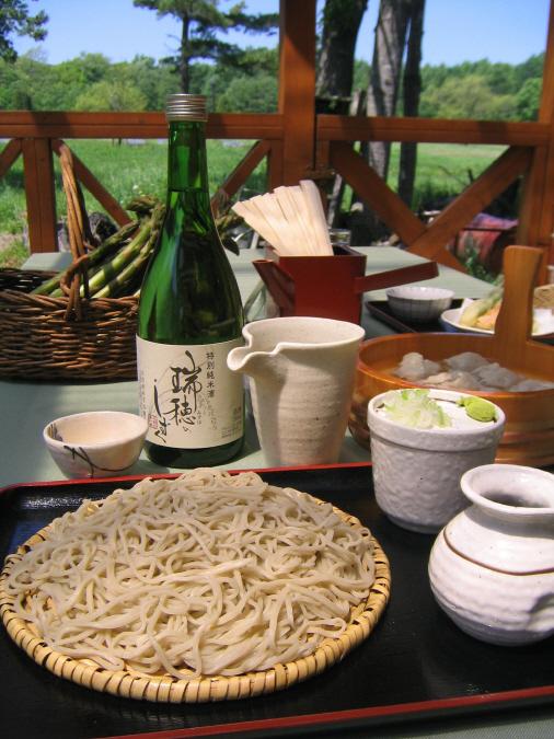 江別秘境そば処『コロポックル山荘』 「北の蕎麦や開業指南?原始林山荘のそば打ち体験」
