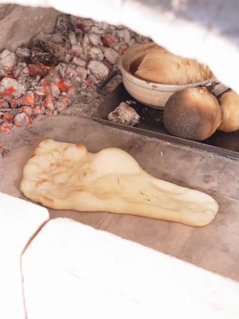 当別『フレンドリーファーム』 「アウトドアクッキングでエコライフ満喫!『石窯フルコース』体験 石窯ナン